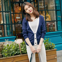 Wholesale Womens Warm Winter Sweaters - adohon 2017 womens winter Cashmere sweaters and auntmun women knitted Cardigan High Quality Warm Female Vneck Long Casual Open