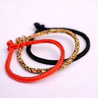 ingrosso vendita di gioielli fatti a mano-2018 braccialetti fatti a mano di vendita calda per gli uomini donne etniche fortunato corda catena braccialetto di fascino paio di gioielli regalo dropshipping