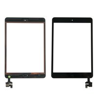 ingrosso bottone mela-Spedizione gratuita per dhl o ems 100% completata per iPad mini 1 mini 2 Touch Screen Digitizer con cavo Flex Home Button IC