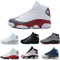 Wholesale black sunstone - [With Box] Cheap XIII 13 CP3 Basketball Shoes 13s Black Orion Blue Sunstone Athletics Sneaker Men Sports shoe 13s Trainers