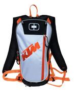 motosikletler eyer çantaları toptan satış-Yeni Motosiklet Seyahat Sırt Çantası Motocross ile 2 Litre TPU Su Torbası Motosiklet Sürme Eyer Çantası Dağ bisikleti Aracı çanta