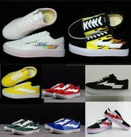 Wholesale little blue shoes - REVENGE x STORM Shoes,Revenge of the storm! joint lightning KANYE little brother works, four color men and women shoes 36-44