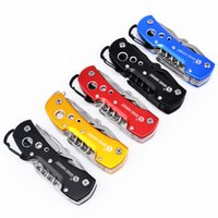 Wholesale swiss army knives wholesale - 5 Colors High Quality Swiss Knife Outdoor Camping Survival Army Folding Knife Multifunctional Tool Pocket Knife EDC new cool