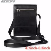 vibe de bolso venda por atacado-Zipper coldre bolsos duplos bolsa com bolsa de ombro cinto caso de telefone para lenovo k3 k4 k5 k6 k7 k8 mais S5 S8 S920 VIBE P1 P2