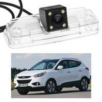visión hyundai al por mayor-¡Nuevo! 4 LED cámara de visión trasera del coche de copia de seguridad de estacionamiento CCD apto para Hyundai ix35 2014