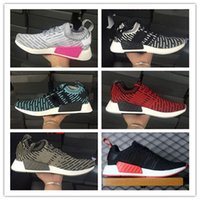 Wholesale Gold Lovers Cream - NMD Runner R2 city sock 2 Primeknit PK Summer Breathe sneaker Men's & Women's Lover Mesh Running Sport Shoes all bla