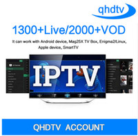 iptv usb tv toptan satış-Iptv Italia Leadcool Qhdtv 1 yıl Iptv Abonelik 1300 Canlı Kanallar Android 7.1 Akıllı TV Iptv Fransızca Arapça Pro