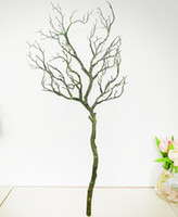 Wholesale artificial coral flowers for wedding for sale - Group buy 1PCS Artificial Black White Tree Branches Plastic Coral Artificial Flowers for Home Wedding Decorative Dried Tree Branches H90CM