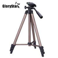 video kamera 2.5 toptan satış-GloryStar WT3130 Rocker Kol ile Protable Kamera Tripod Standı Canon Nikon Sony DSLR Kamera Kamera için tripod standı Yük 2.5 kg