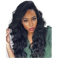 Wholesale lace part wigs human hair bangs for sale - Group buy Loose Wave Human Hair Wigs With Side Part Bangs Unprocessed Peruvian Full Lace Wig Bleached Knots Lace Front Wigs Glueless