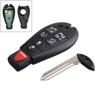 Wholesale key fob dodge - 433Hz 7 Buttons Replacement Remote Car Key Fob Transmitter Clicker Alarm for Dodge M3N5WY783X IYZ-C01C CIA_41H
