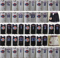 Wholesale basketball jerseys shorts resale online - Space Jam Jersey Movie Tune Squad Looney Daffy Duck Bill Murray Lola Bugs Bunny TAZ Tweety Michael LeBron James Basketball Curry Black White