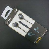 oem auriculares al por mayor-3,5 mm auriculares auriculares de alta calidad EO-IG955 OEM auriculares sintonizados en la oreja los auriculares con micrófono para Galaxy S8 Plus s6 note8 con paquete