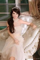 Wholesale adult figure anime - Realistic Silicone 3D sex dolls with big breast,soft TPE Japanese Anime Figure Sex Dolls with White Skin for Adult Love