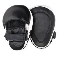 Wholesale sandbag for mma online - 2Pcs Muay Thai Mma Boxing Gloves Sandbag Punch Pads Hand Target Focus Fitness Training Circular Mitts For Kick Fighting