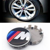 FOR M LOGO 2.68inch 68mm 10PINS Clip for E60 E90 F10 F30 F15 E63 E64 E65 E86 car Wheel Hub Emblem Cover Cap ABS Aluminum
