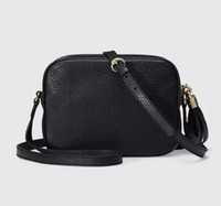 Wholesale black american singles - Women Leather Soho Bag Disco Shoulder Bag Purse 308364