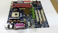 материнская плата 478 оптовых-865G материнская плата GA-8IG1000MK материнская плата 478 pin DDR слот памяти 4