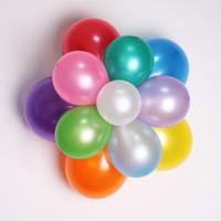 globos para bodas de color al por mayor-12 pulgadas de fiesta de látex globo redondo globo de la boda decoración globo fuentes del partido 100pcs / lot 14 color