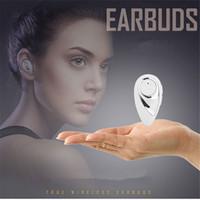 chinesische drahtlose kopfhörer großhandel-MINI Stealth drahtlose Bluetooth Chinesisch und Englisch wechselnde Stimme fordert Fahrzeug Kopfhörer HIFI Denise Stereo wasserdichte Kopfhörer