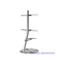 """Wholesale floor stand mounts - Fashional TV Floor Stand TV Bracket Mount Mobile Carts Holder w  STP Tray DVD Shelf Fit for 32""""~60"""" Max Support 30KG Weight"""