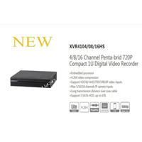grabadora de 16 canales al por mayor-DAHUA 4/8/16 Canal Penta-brid 720P Grabador de video digital compacto de 1U sin logotipo XVR4104HS / XVR4108HS / XVR4116HS