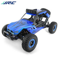 coche rojo de la deriva del rc al por mayor-En stock JJRC Q46 1/12 2.4G 4CH High Speed ​​Off Road Buggy Crawler 45km / H RC Coche Azul Rojo 4 ruedas motrices Drift RC Racing Car