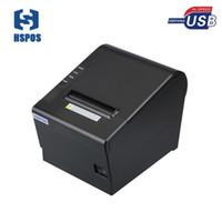 impresoras de billetes al por mayor-Impresora térmica USB de 80 mm con Win10 Linux compatible con el controlador Impresora de tickets OEM para la impresión de facturas POS Impresora térmica