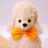 collar del gato corbata de lazo al por mayor-20 unids Perro Corbatas de lazo de vacaciones de Navidad Lindo Corbatas Collar Mascota Cachorro Perro Gato Lazos Accesorios Suministros