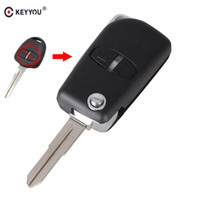 Wholesale mitsubishi key covers resale online - gnition System Car Key KEYYOU Modified Remote Key Shell Case Buttons For Mitsubishi Outlander Grandis Pajero Lancer Car Cover Right gro