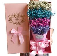 bouquet de graduation achat en gros de-Style coréen bouquet d'étoiles bouquet de fleurs sèches Coffret de graduation anniversaire bouquet de copines Valentin