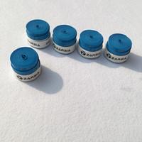 цвет ракетки оптовых-120pcs Blue Color ZARSIA Tennis overgrips,PU Tennis racket grips,Breathable anti-skid Badminton racket Grips,thin Dry feel