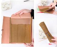 saco de plástico para rolo de lápis venda por atacado-New Vintage Retro Tesouro Mapa Lápis Casos de Luxo Rolo De Couro PU Pen Bolsa Bolsa Para Artigos de Papelaria Material Escolar Make Up Cosmetic Bag