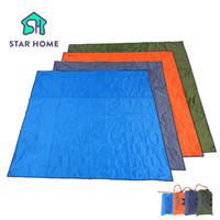 Wholesale Parking Tents - 215x215cm Waterproof Camping Mat 2-3 Persons Mattress Outdoor Tent Mat Oxford Cloth Park Picnic 4 Colors