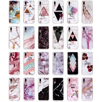Wholesale r paintings for sale - Group buy Granite Scrub Marble Rock Stone Painted Soft TPU IMD Case For Huawei P8 Lite P9 Mini P10 P20 Pro Mate RS Honor Y5 Y6 Y7 Prime