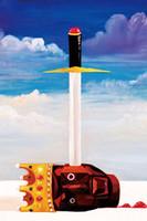 художественная галерея принты оптовых-Галерея искусства холст - Канье Уэст Моя прекрасная темный витой фантазия искусства холст плакат HD печать масляной живописи стены искусства плакат картина