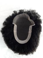 ingrosso tessuto dei capelli indiani più lunghi-Personalizzato di vendita caldo di lunga durata Prezzo diretto diretto della fabbrica 100% Virgin Indian Capelli Afro Curl Weave Parrucche Afro Curl toupee per Bl