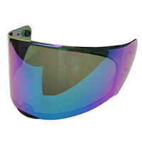 Wholesale replace lens - replace lens for LS2 FF328 motorcycle helmet transparent black rainbow original extra lens suitable for LS2 FF320 FF353 FF328