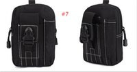 Wholesale purses water resistant for sale - Best Quality Wallet Pouch Purse Sport Phone Case Outdoor Tactical Holster Military Molle Hip Waist Belt Bag fashion item