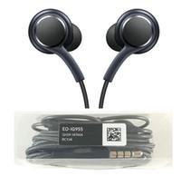 buenos auriculares al por mayor-Alta calidad auriculares de 3,5 mm auriculares de alta calidad EO-IG955 auriculares estéreo manos libres en auriculares de oído con micrófono auriculares para Galaxy buen artículo