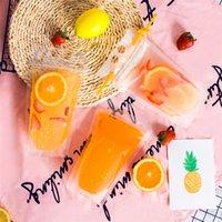 e bebida líquida venda por atacado-Portátil saco de bebidas sacos de suco de frutas líquido saco de embalagem auto selagem lixamento transparente espessamento e descartáveis sacos de embalagem A1046