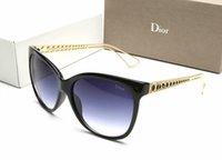 mädchen sonnenbrillen marken großhandel-Sonnenbrille der Luxuxkatzenaugen-Rahmen-Sonnenbrille-Marken-Frauen Sonnenbrille-Glas-Mädchen-Art und Weise galvanisiert Sonnenbrille 003