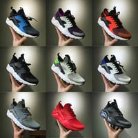 venta de zapatillas de aire al por mayor-Nike Air Huarache Shoes 2019 New Air Max Huaraches Nuevo diseño Air Huarache Ultra Triple Black Blanco Huraches 4s Sneakers Ultra Breathe sport Shoes