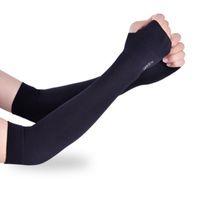 ingrosso maniche per guanti-Protezione UV Protezione o Warmer Manicotto per uomo Donna Bambino Protezione solare Guanti da corsa Running Golf Cycling Driving