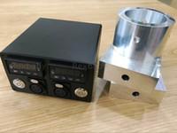 "3""x5"" Rosin Press Plates aluminium Plate Dual PID temperature Controller box Electric Nail heating rods Titanium Nail coil heater"