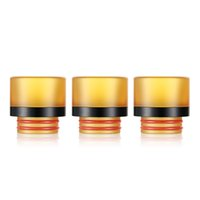 Wholesale o ring drip tip resale online - 810 PEI Drip Tips Wide Bore Drip Tip Mouthpieces with dual O Ring For rda TFV8 TFV12 TFV8 Big Baby Tanks