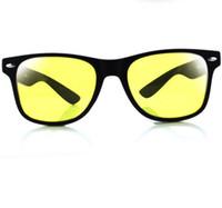 ingrosso luci di notte della porcellana-U119 Spedizione gratuita Uv Protection Night-Vision Occhiali Lessened Light Driver Guida occhiali speciali trasporto di goccia gratuito Cina fabbrica