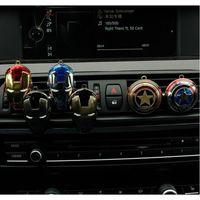 Wholesale metal decor autos - 23 Designs Car Air Vent Perfume Clip on Air Freshener for Marvel Iron Man Auto Decor Novelty Items AAA402