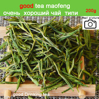 Wholesale china slimming tea for sale - Group buy SALE New g Premium China Organic White Tea Green Tea Super Anji baicha needle Tea for Health Care Beauty and Slim
