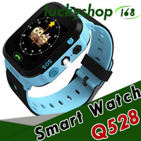 Wholesale Using Moq - 2018 Touch Screen Q528 Kids GPS Tracker Watch Kids Smart Watch SOS Call Location Finder Device Tracker Kids Flash Light Watch MOQ:50PCS